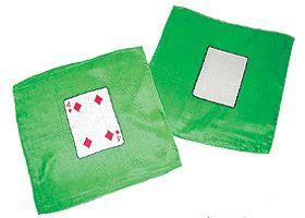 foulard la carte 20 x 20 4 de carreau pack de 2. Black Bedroom Furniture Sets. Home Design Ideas